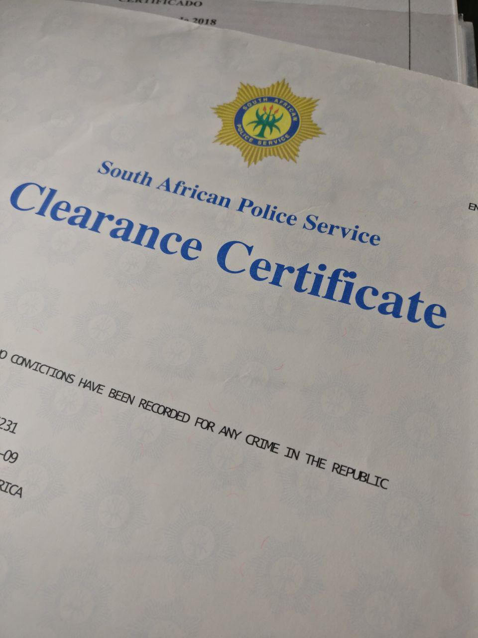 Expungement of criminal records | Apostilles in South Africa