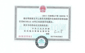 Chinese attestation in south africa