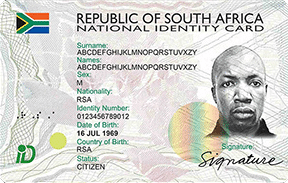 South African ID card