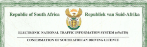 Drivers Licence Verification Certificate South Africa header