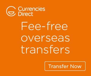 Currencies Direct Homepage Banner